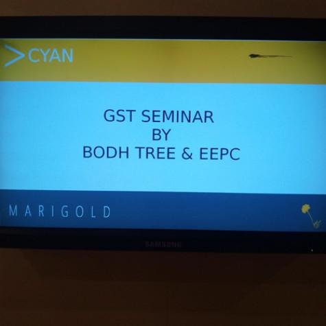 GST Awareness Seminar – In association with EEPC  @ Hotel Mariegold, Hyderabad