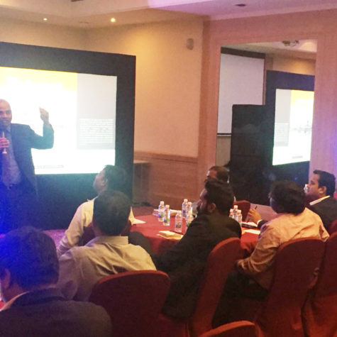 Rama Krishna, MD Bodhtree Consulting and member of NASSCOM SME council led the SME connect session