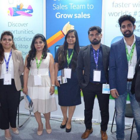 BODHTREE – SALESFORCE CRM CAMP @ International SME Convention, Okhala, Delhi, April 29, 2018